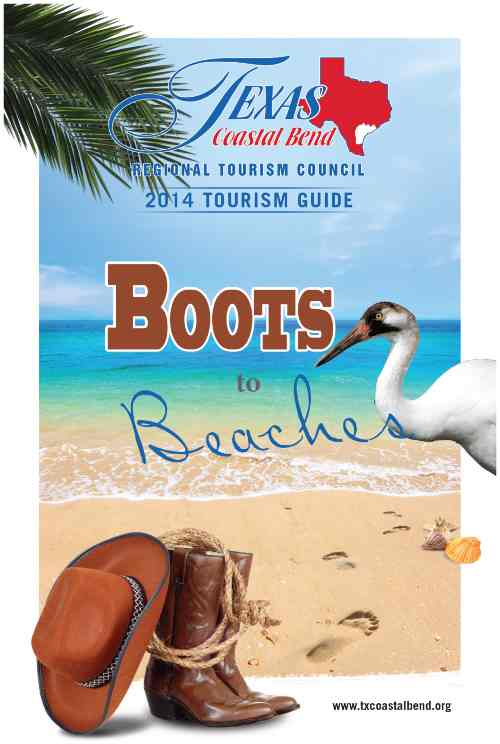 Texas Coastal Bend Tourism Guide Book